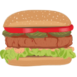 Vegatarische/Veganistische Hamburger